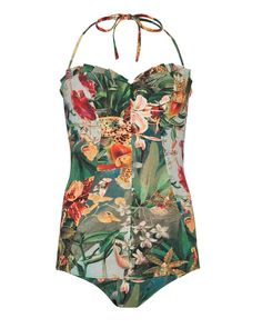 another tropical swimsuit from Ted Baker
