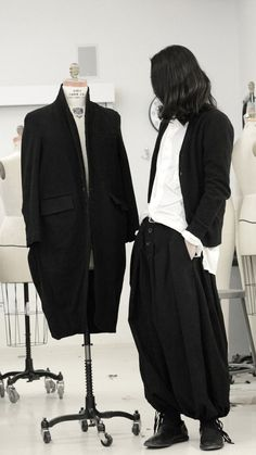 JIN LEE wearing Yohji Yamamoto