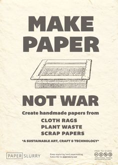 Go hand #papermaking!!
