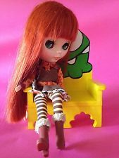 FORNITURE FOR Barbie, Momoko, Blithe, Pureenemo, BJD - monster chair