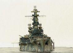 USS Alabama BB-60 1/350 Scale Model Diorama
