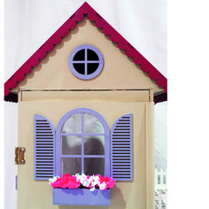 Maak 'n pophuis Barbie House, Carpentry, Kids Room, Miniatures, Crafty, Dolls, Cool Stuff, Creative, Outdoor Decor