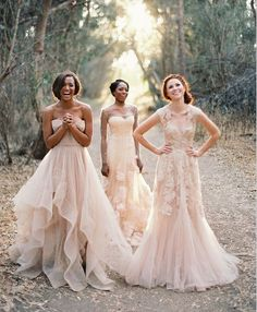 these dresses are gorgeous. GORGEOUS!! and I have no clue who the designer(s) are