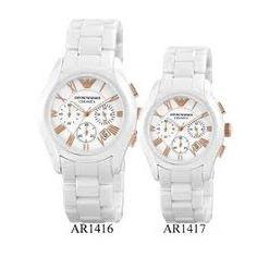 01509e77e Couple Watch, Emporio Armani, Silver, Bracelet Watch, Bracelets, Fashion,  Watches