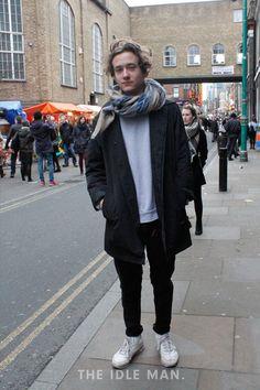Men's Street Style - Skater Look