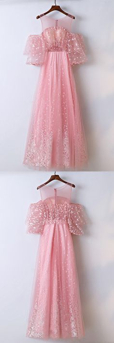 Only $118, Prom Dresses Lovely Pink Applique Lace Long Prom Dress Different #MYX18119 at #GemGrace. View more special Prom Dresses,Homecoming Dresses now? GemGrace is a solution for those who want to buy delicate gowns with affordable prices, a solution for those who have unique ideas about their gowns. 2018 new, shop now to get $10 off!