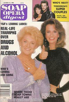 Soap Opera Digest Magazine October 18 1988 Jeanne Cooper Jess Walton Oct | Check it out #soaps #soapoperadigest on ebay www.grammysbargains.com