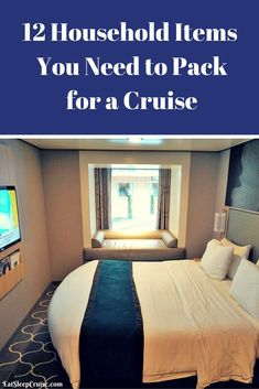 12 Household Items You Need to Pack for a Cruise