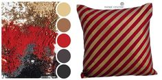 Bring the heady spices from around the world into your home with this color palette. Ideal for the bedroom.