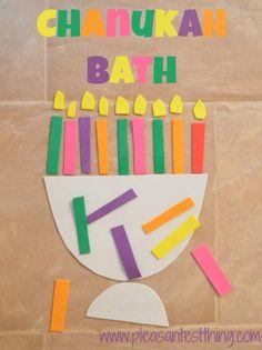 Make Your Own Chanukah Bath » The Pleasantest Thing