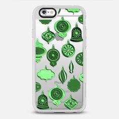 Green Retro Ornaments - New Standard Case