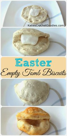 Empty Easter Tomb Biscuits #easter #JESUS #resurrectionsunday ---> http://www.katiescrochetgoodies.com/2014/03/how-to-explain-true-meaning-of-easter.html