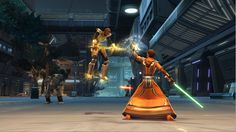 Star Wars: The Old Republic Light side use of the force on Nar Shadda