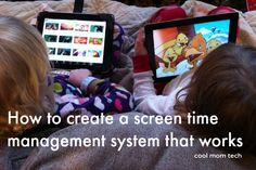 An easy way to manage screen time for kids in a way that really works.