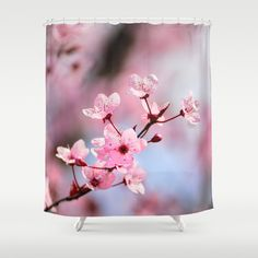 Pink spring...... Shower Curtain by Guido Montañés - $68.00
