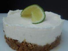 Cheesecake citron vert & spéculoos (sans cuisson), Recette Ptitchef