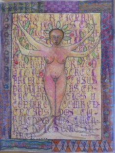Illustrate Manuscript Page #6 Manuscrito Ilustrado Folio # 6