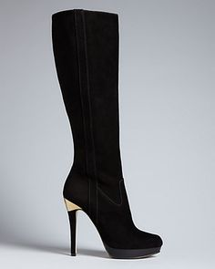 MICHAEL Michael Kors Tall Platform Boots - York High Heel | Bloomingdale's