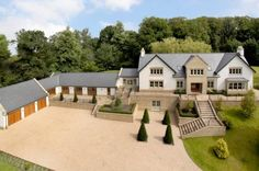 5 bedroom detached house for sale in Priest Lane, Mottram St Andrew, Cheshire - Rightmove. St Andrews, Exterior House Colors, Exterior Design, Lofts, Build Your Own House, Country Landscaping, Small House Plans, House Goals, Modern Farmhouse