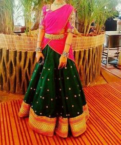 A beautiful ghagra choli