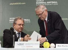 World baseball and softball authorities announced on Sunday they would join as part of a campaign to get both sports back at the Olympic Games in 2020.