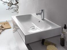 ICon Keramag Waschbecken, Keramag Icon Waschtisch, Gäste Wc, Badewanne,  Griechenland, Moderne