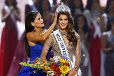 Miss France, Iris Mittenaere, took the crown at the 65th Miss Universe pageant. With her poise and beauty, we are not surprised in the least!