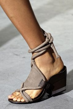 shoes @ 3.1 Phillip Lim Spring 2015
