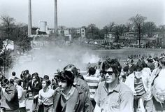 Kent State 45 years ago when students exercising the right to protest were gunned down by National Guardsmen.