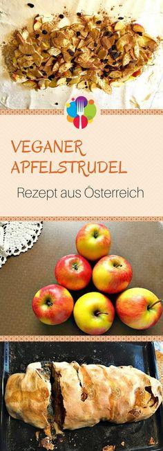 Veganer Apfelstrudel Rezept I Omis Apfelstrudel I Apfelstrudel einfach I - Vegalife Rocks: www.vegaliferocks.de✨ I Fleischlos glücklich, fit & Gesund✨ I Follow me for more vegan inspiration @vegaliferocks