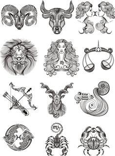 nanaswall - 0 results for tattoo ideas female Astrology Tattoo, Horoscope Tattoos, Aquarius Tattoo, Taurus Tattoos, Zodiac Sign Tattoos, Tattoo Signs, Zodiac Art, Zodiac Signs, Astrology Signs