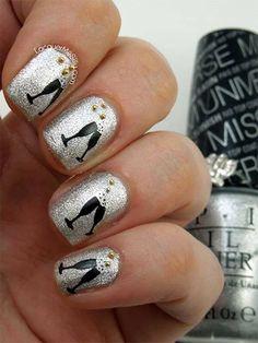 25 Memorable New Years Eve Nails, um Ihr Jahr mit einem Bang zu beenden #beenden #einem #memorable #nails #years