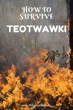 What TEOTWAWKI will most certainly do is change how we live our life, not just for a couple of weeks or months, but for years or maybe even FOREVER. Life as we know it may never the same again after TEOTWAWKI. #TEOTWAWKI #survival #prepping