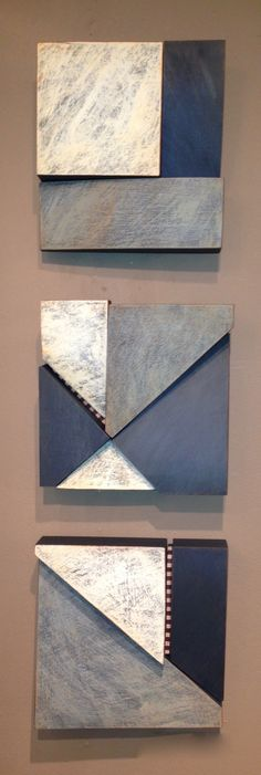 Larry Fox Architectural Squares & Totems - michigan artists gallery