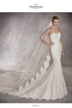 Shop a great selection of Pronovias Princia Strapless Lace Mermaid Gown. Find new offer and Similar products for Pronovias Princia Strapless Lace Mermaid Gown. Pronovias Wedding Dress, Lace Mermaid Wedding Dress, Mermaid Gown, Mermaid Dresses, Bridal Dresses, Wedding Gowns, Tulle Wedding, Dress Lace, The Bride