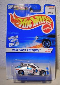 620b9072a1c Hot Wheels 1998 Ford Escort Cosworth Rally sehr selten!