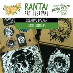 dirtydonuts: See you at RANTAI art Fest