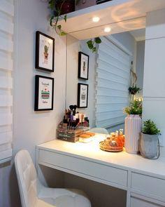 Room Design Bedroom, Room Ideas Bedroom, Home Room Design, Dream Home Design, Home Interior Design, Bedroom Decor, House Design, Teen Room Decor, Home Office Decor