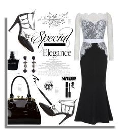 """""""Zaful.com: Special Elegance"""" by hamaly ❤ liked on Polyvore featuring Oscar de la Renta, Narciso Rodriguez, Bling Jewelry, Elizabeth Arden, Stila and Too Faced Cosmetics"""