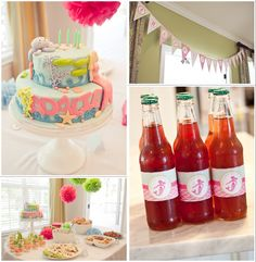 8 Pretty Party Themes for Girls Little Mermaid Parties, The Little Mermaid, 2nd Birthday Parties, Happy Birthday, Party Themes, Party Ideas, Gift Ideas, Space Party, Under The Sea Party