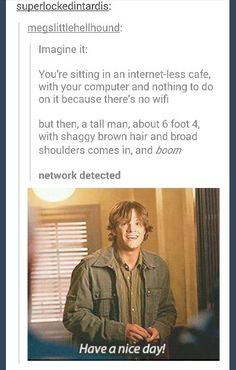 Just imagine it. #supernatural