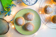 Vegane Ofen-Berliner (Krapfen, Pfannkuchen) – fettarm & gesünder