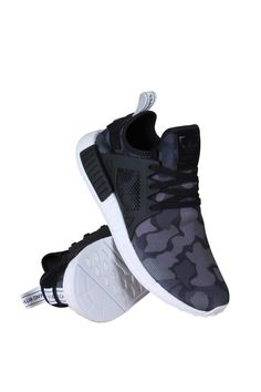 adidas NMD Runner XR1 Casual Core Black/Soft Grey/Footwear