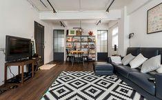 台北 15 坪開放式長型老公寓 - DECOmyplace