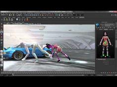 Autodesk Maya 2013: HumanIK Enhancments