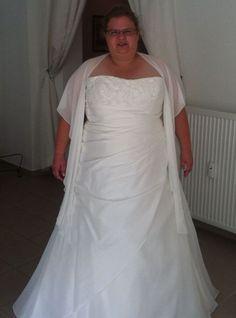 ♥ Brautkleid A-Linie Minna v.Lohrengel, gr. 58 ♥  Ansehen: http://www.brautboerse.de/brautkleid-verkaufen/brautkleid-a-linie-minna-v-lohrengel-gr-58/   #Brautkleider #Hochzeit #Wedding