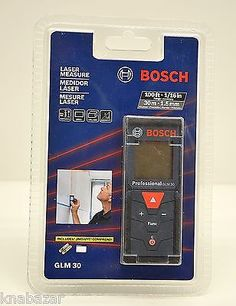 Bosch Laser Measure GLM 30 in Business & Industrial,Light Equipment & Tools,Hand Tools | eBay