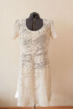 Одноклассники Crochet Woman, Crochet Lace, Crochet Diagram, Crochet Patterns, Fillet Crochet, Crochet Wedding, Dress Clothes For Women, Special Dresses, Summer Patterns