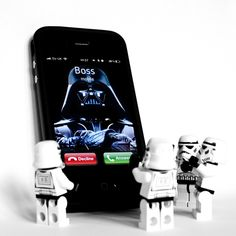 Call from the boss // Star Wars