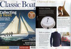 Classic Boat magazine | Wayside Flower Bridlington Gansey feature, march 2014